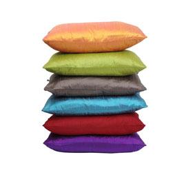 Reduced price silk cushion