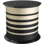 Black and white spool table by Missoni Home