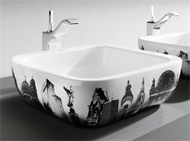 Designer Roca Berlin wash basin sink