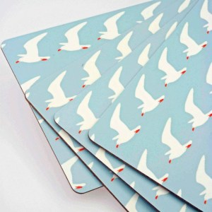 Seagull print design by Anorak