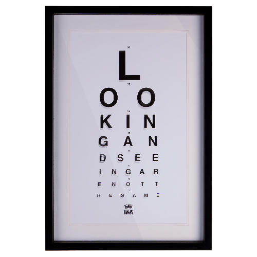 The eye chart home accessories trend