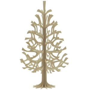 Alternative Wooden Scandinavian Christmas Tree