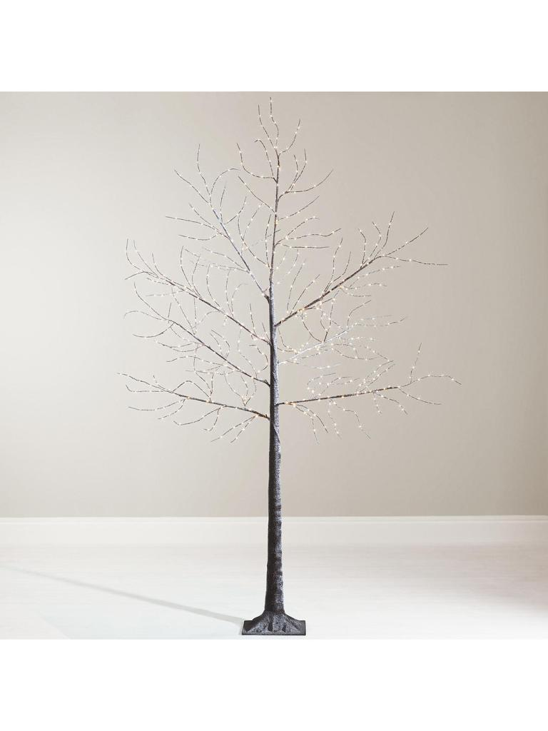 Fed up with traditional Christmas trees? Opt for a super sleek and minimal twig style Christmas tree instead. This one even comes pre-lit to save you any bother.