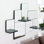 Triple shelf mirror from Dwell