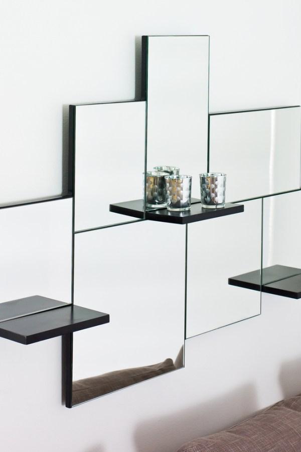 Triple shelf mirror from Dwell