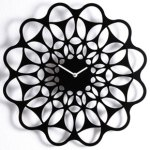 Black & Black Clock by Diamantini and Domeniconi