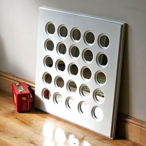 Connect Four mirror by SquarePear Furniture