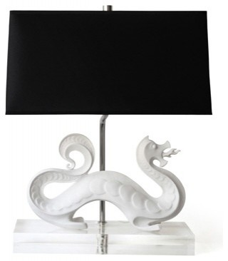 Jonathan Adler dragon lamp