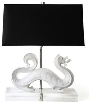 Jonathan Adler dragon lamp