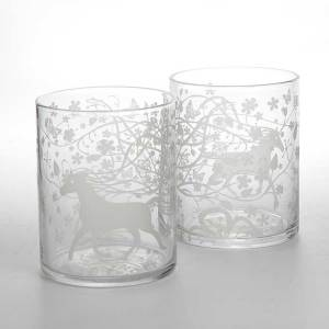 Dutch designer glassware whisky tumblers