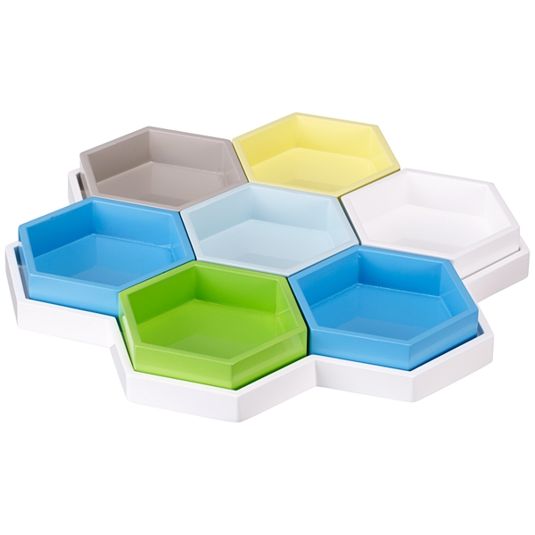 Hexagonal beehive tray from John Lewis
