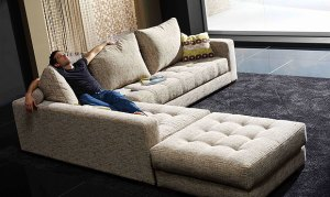 Contemporary corner sofas