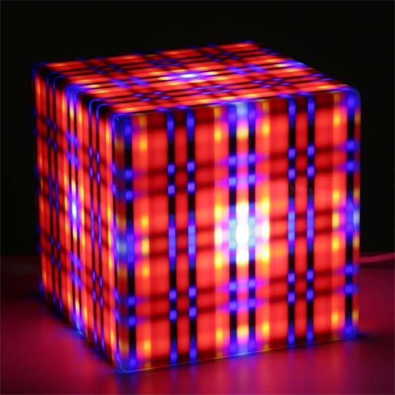 Studio Lux Lighting Design: Alle Design Lux Lighting Striped Cube Light