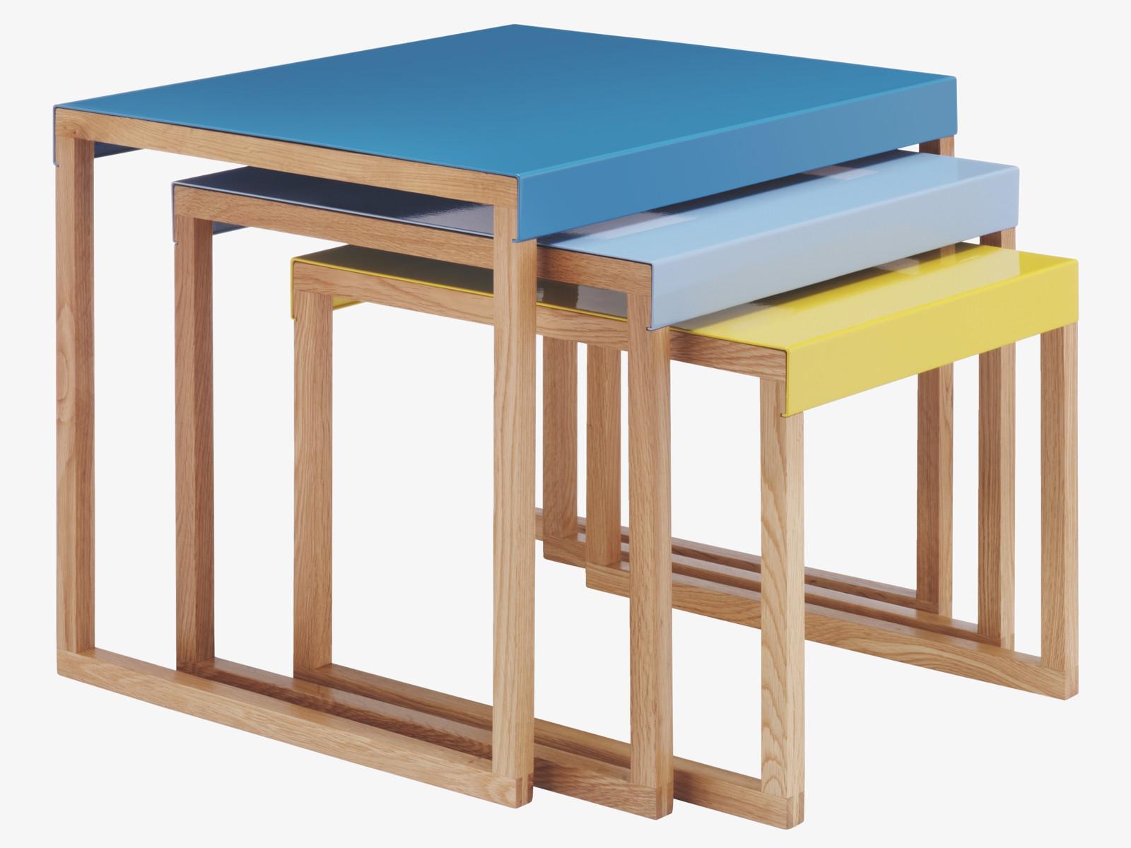 Contemporary Kilo nest of tables from Habitat Fresh Design Blog