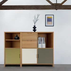 Oak furniture for a contemporary home