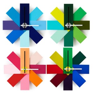 Contemporary and modern home wall clock