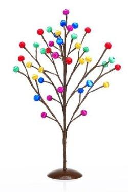 Kolorowa współczesna alternatywna dekoracja świąteczna