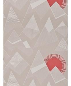 Dusk designer mountain wallpaper