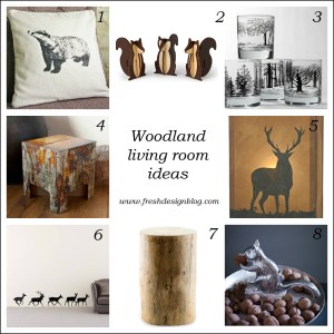 How to use the woodland trend in your home