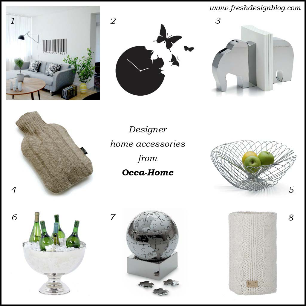 Designer home accessories on sale at Occa-Home