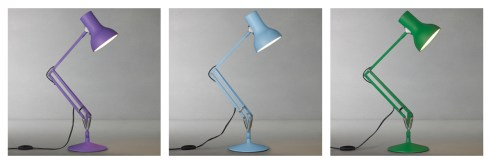Anglepoise desk lamps in fresh design contemporary colours