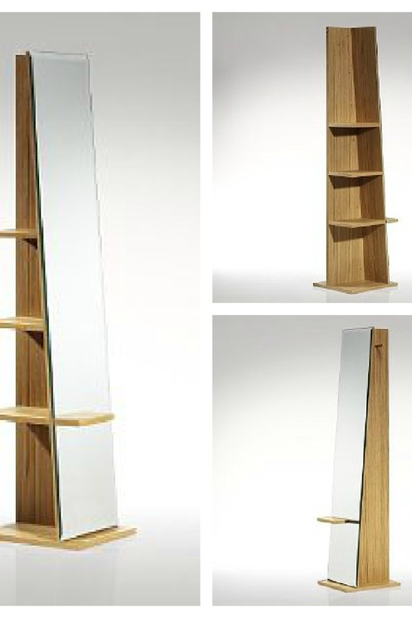 Fresh Design Furniture: Conran Irvin storage mirror