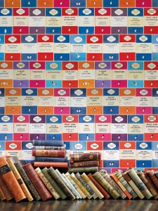 Penguin Library book design wallpaper