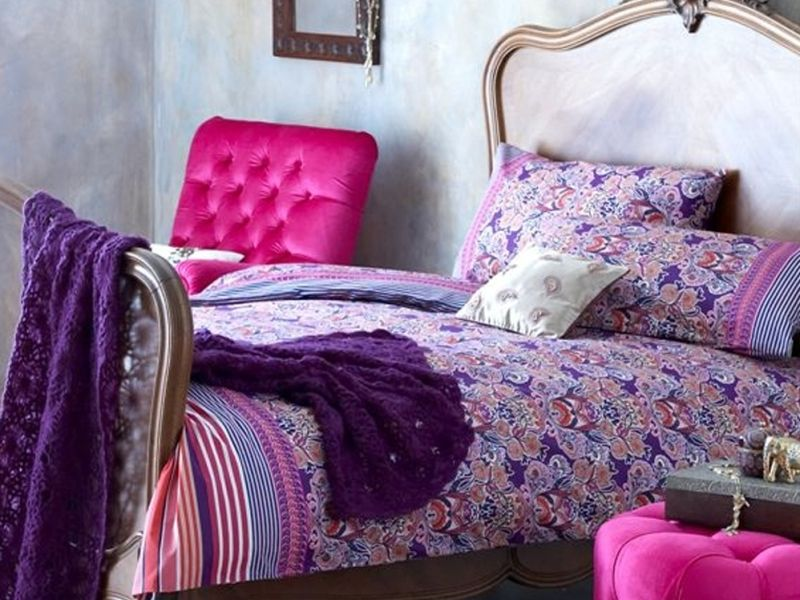 Epic Purple bedding bedroom ideas