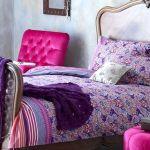 Monsoon purple Adriana bed linen