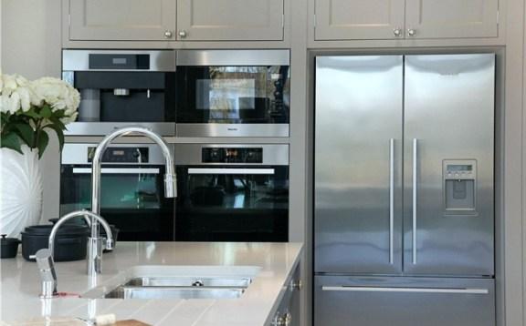 Modern designer kitchen appliances