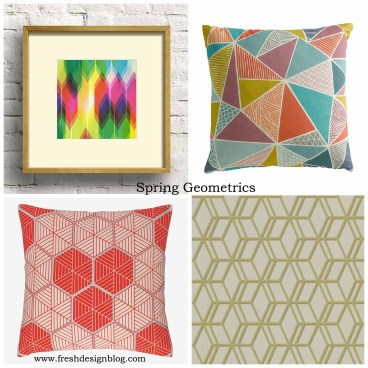 High Street Hunter Most Wanted spring geometric home trend