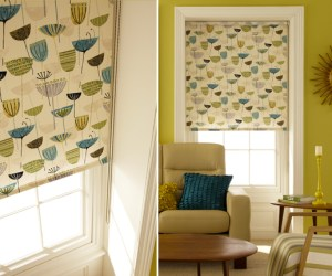Contemporary roller blinds