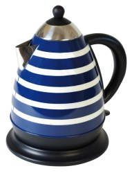 Funky design stripe kettle