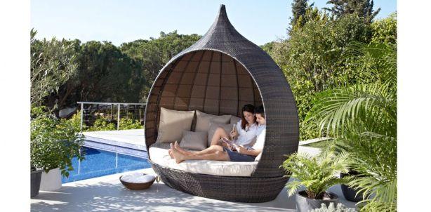 Contemporary design garden seating