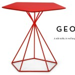 Contemporary Geo table: Affordable geometric design side table