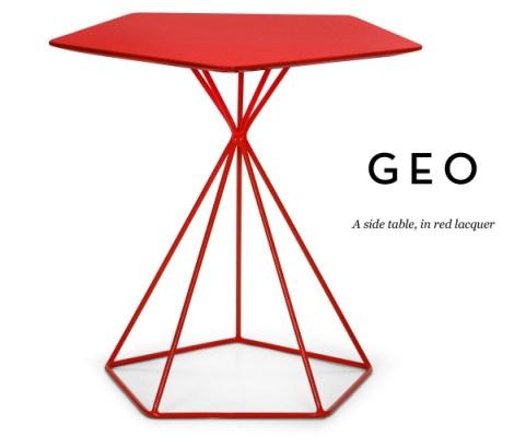 Best geometric design table
