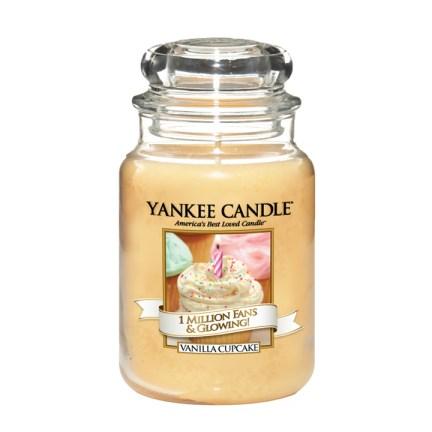 Limited edition Yankee Candle jar vanilla cupcake
