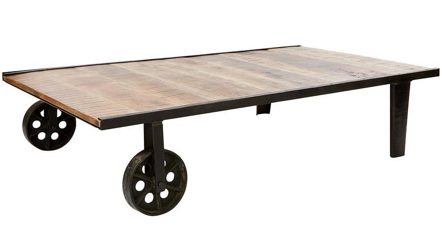 Fresh Design Style Industrial Trolley Coffee Table Fresh Design Blog