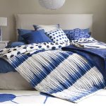 Autumn blues: Soft furnishings and bedding