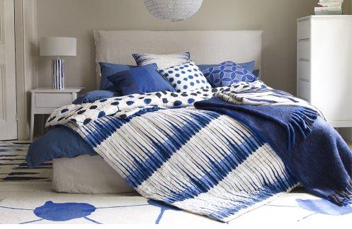 Interior design ideas in blue