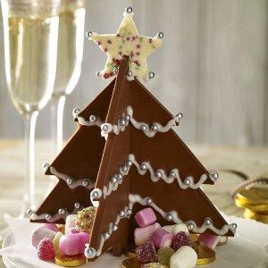 How to make a 3d chocolate Christmas tree