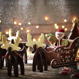 Homemade Christmas chocolates