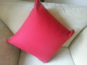 Two cushion designs in one