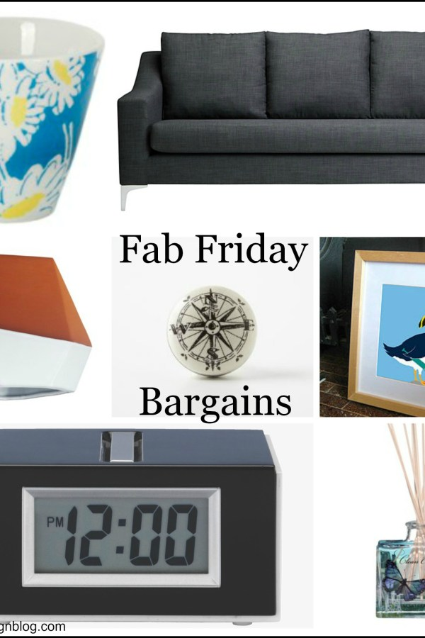 Fab Friday Bargains: Homeware for less