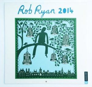 British designer Rob Ryan calendar