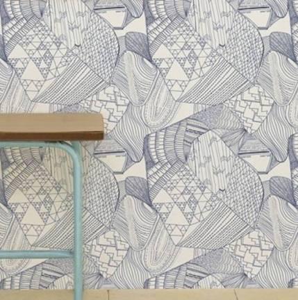 Contemporary home wallpaper