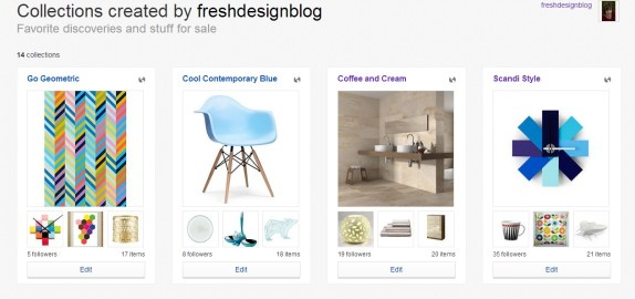 Shopping ideas on ebay from Fresh Design Blog