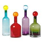 Gorgeous Pols Potten mouth blown glass bottles