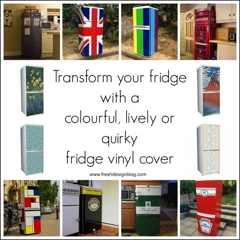 Transform your fridge with vinyl refridgerator covers