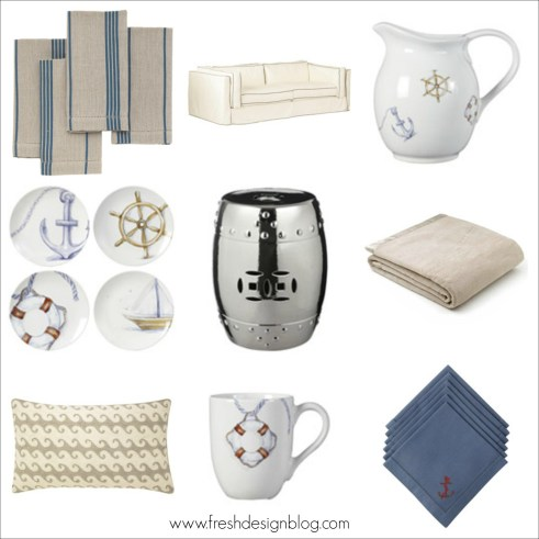 Coastal homeware bargains